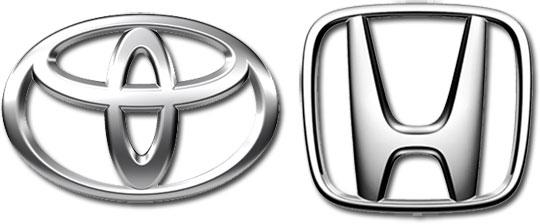 Servicing Toyota & Honda